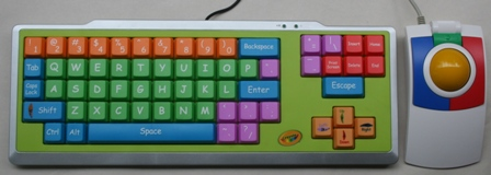 EZ Type Keyboard with KidTrac Trackball