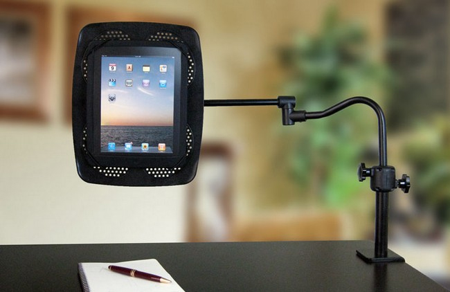 LEVO eBook, iPad and Tablet PC Clamp on Stand