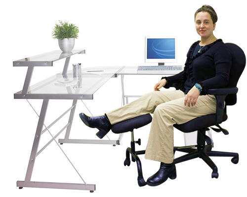footrests ergoup double leg and foot rest