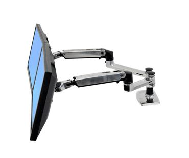 monitor arms lx dual side by side arm