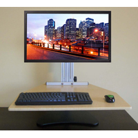 Kangaroo Pro Free Standing Adjustable Height Desk Unit